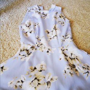 Snidel Dresses - Sindel Japanese brand Floral sleeves-less dress